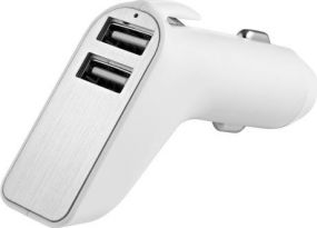 USB Auto-Adapter Charge & Drive Security Metmaxx® als Werbeartikel