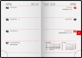 Taschenkalender Modell 712 als Werbeartikel