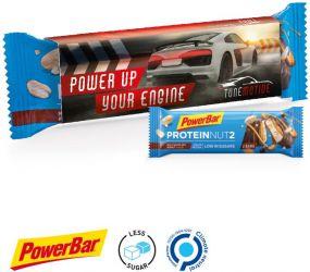 PowerBar Protein Nut2 Riegel, Milk Chcocolate Peanut Flavour als Werbeartikel