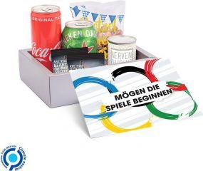 Geschenk-Paket Fußball als Werbeartikel