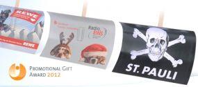 Schneeschieber mit individuellem Motiv als Werbeartikel