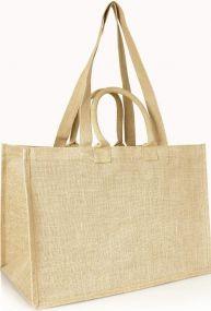 Jute-Einkaufstasche im XXL Format als Werbeartikel