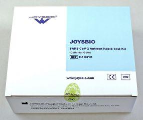 Antigen Spucktest Joysbio Covid19 Schnelltest als Werbeartikel
