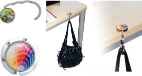 Taschenhalter mit Eco-Doming als Werbeartikel als Werbeartikel