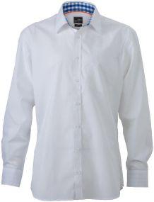 Herrenhemd Plain als Werbeartikel