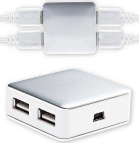 USB Hub mit 4 Ports als Werbeartikel