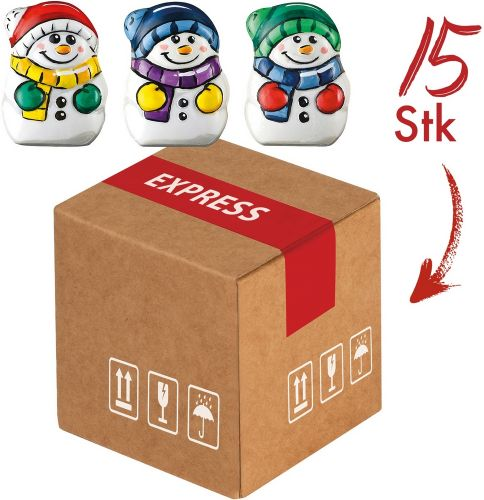 Präsentset Mini-Cargo Snowmen als Werbeartikel