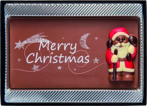 Merry Christmas Tafel als Werbeartikel
