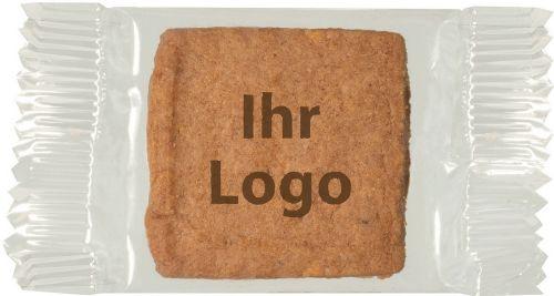 Guter Keks Dunkel Single - inkl. 1c Druck als Werbeartikel