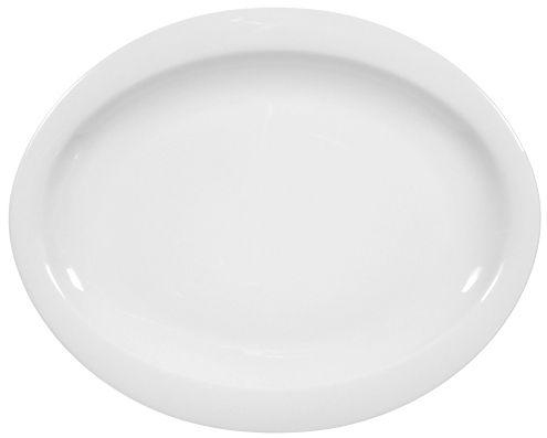 Frühstücksteller oval 25x20 cm als Werbeartikel
