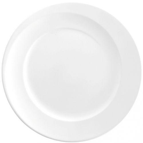 Frühstücksteller rund 23 cm als Werbeartikel