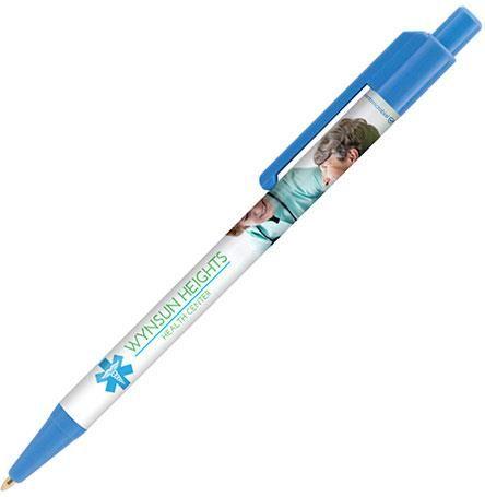 Antimikrobieller Kugelschreiber Astaire inkl. Rundum Foliendruck als Werbeartikel