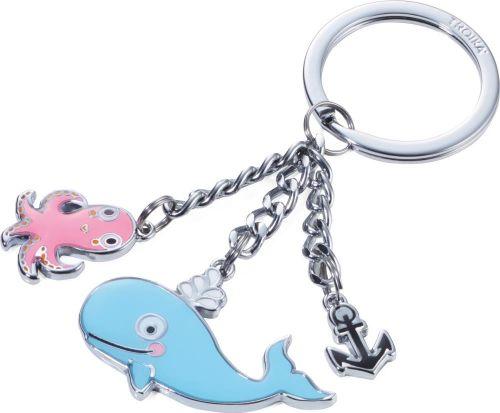 TROIKA Schlüsselanhänger Wal und Oktopus als Werbeartikel