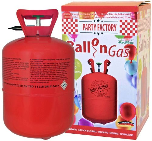 Party Factory 50 Helium als Werbeartikel