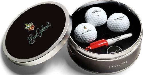 Titleist ProV1 Golfbälle Geschenkdose inkl. Druck als Werbeartikel