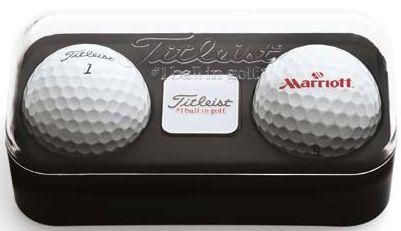 Titleist Golfbälle Ballmarker Box als Werbeartikel