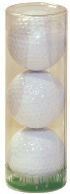 Neutrale Golfbälle als Werbeartikel
