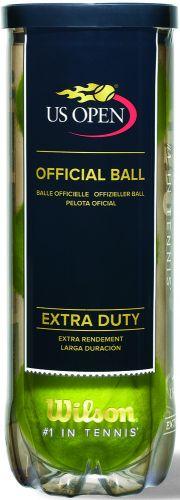 Wilson U.S. Open Tennisbälle in 3-Ball-Tube als Werbeartikel