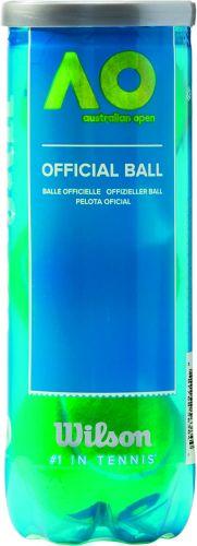 Wilson Australian Open Tennisbälle in 3-Ball-Tube als Werbeartikel