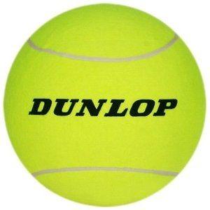 Dunlop 9.5inch Giant Tennisball als Werbeartikel