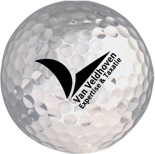 Golfball farbig, inkl. Werbedruck als Werbeartikel