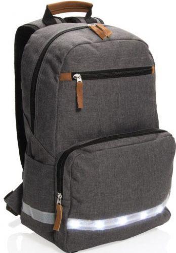 Laptop-Rucksack 13 Zoll mit LED Licht als Werbeartikel
