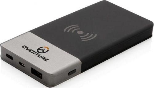 Wireless Powerbank Charging Soft Touch 5W als Werbeartikel