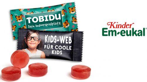 Kinder Em-eukal als Werbeartikel