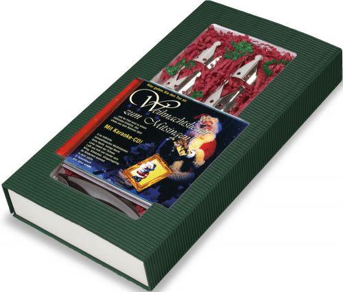 Geschenkset Weihnachten zum Mitsingen 4-tlg. als Werbeartikel