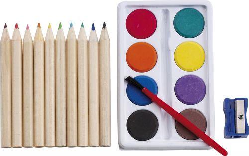 Kinder Malset Creative 3-tlg. als Werbeartikel