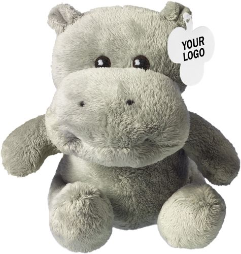 Plüsch-Nilpferd Hippo als Werbeartikel