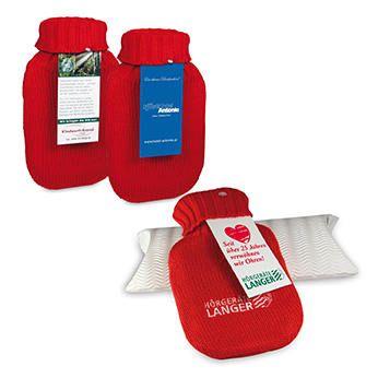 Mini-Wärmflasche als Werbeartikel