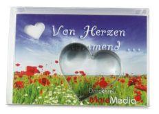 Backförmchen-Box Herz als Werbeartikel als Werbeartikel
