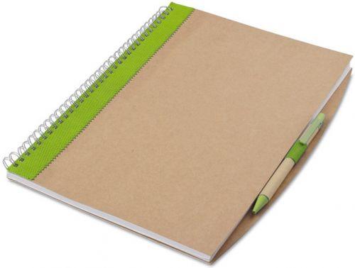 Recyceltes Notizbuch A4 als Werbeartikel