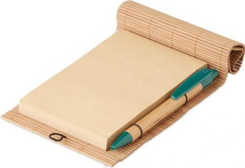 Bambus Schreib-Set als Werbeartikel