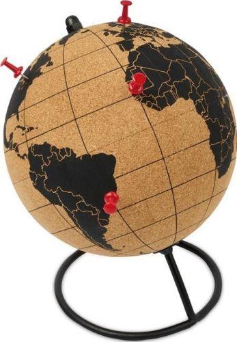 Globus Kork mit Pins als Werbeartikel