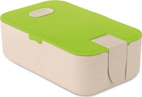 Lunch-Box mit Smartphone-Halter als Werbeartikel