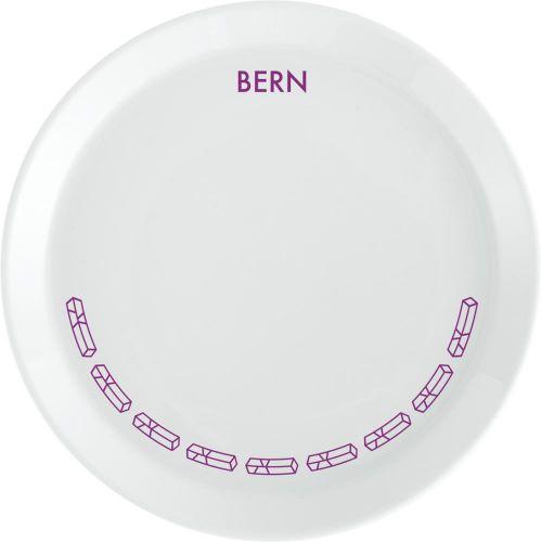 Porzellanteller Bern als Werbeartikel