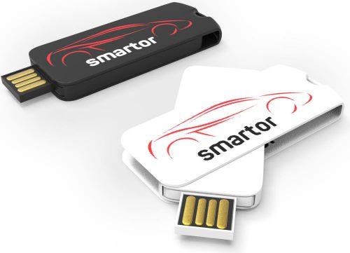 USB Stick Smart Twister Large 2.0 als Werbeartikel