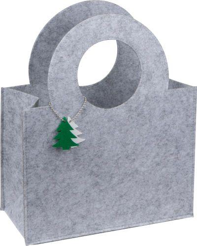 Tasche mit Tannenbaumanhänger als Werbeartikel