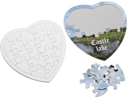 Puzzle Herz als Werbeartikel