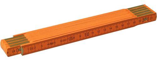 Holzglieder-Maßstab 2 m als Werbeartikel als Werbeartikel