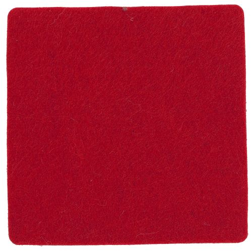 Polyesterfilz Untersetzer Quadrat als Werbeartikel