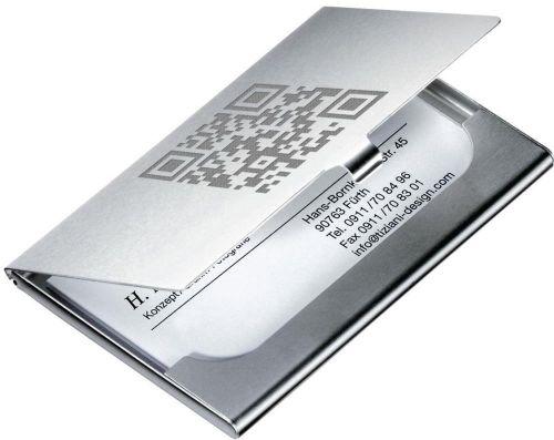 Kartenetui Selection als Werbeartikel
