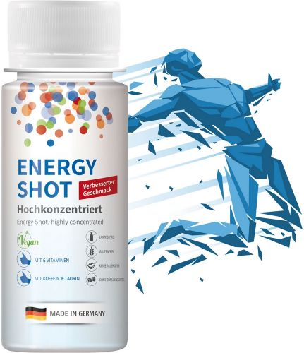 Energy Shot, 60 ml, Fullbody als Werbeartikel