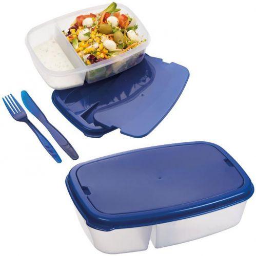 Lunch-Box mit Besteck Matino als Werbeartikel