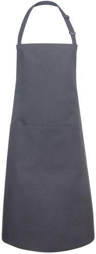 Latzschürze Basic mit Schnalle und Tasche als Werbeartikel