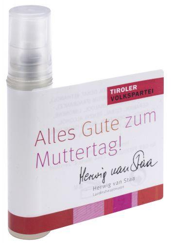 Mini Spray Wellnessduft als Werbeartikel