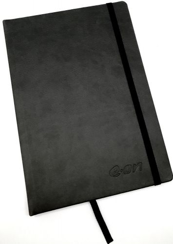 Hardcover-Notizbuch A5 inkl. Prägung als Werbeartikel