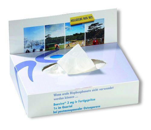 Hygienetücher VitaSoft® 70 mit 4c Druck als Werbeartikel